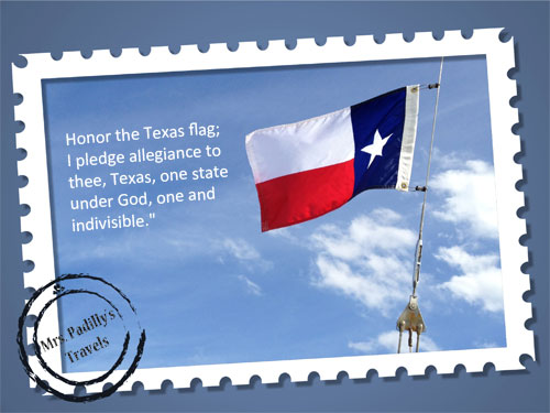 The Lone Star Flag & Pledge