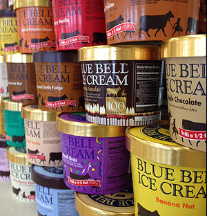 Blue Bell Ice Cream Pinterest