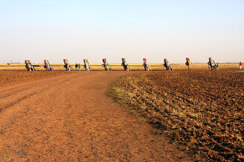 Cadillac Ranch on Horizon