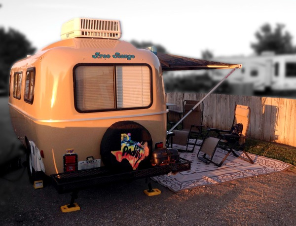 Mrs. Padilly's Casita Travel Trailer: Free Range