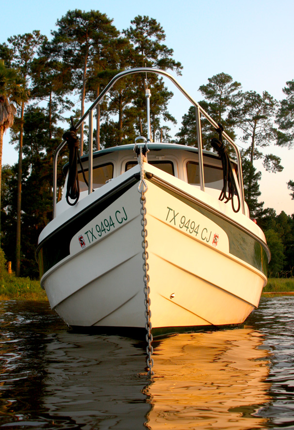 Photo of C-Dory from the Lake