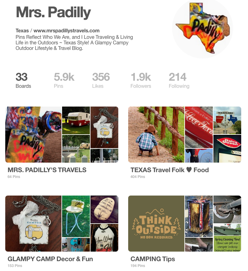 Mrs. Padilly's Pinterest Page