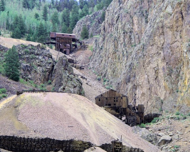 Bachelor Loop near Creede Colorado