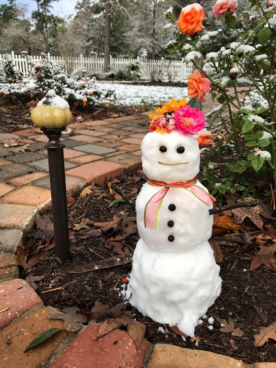 Mrs. Padilly's SnowWoman