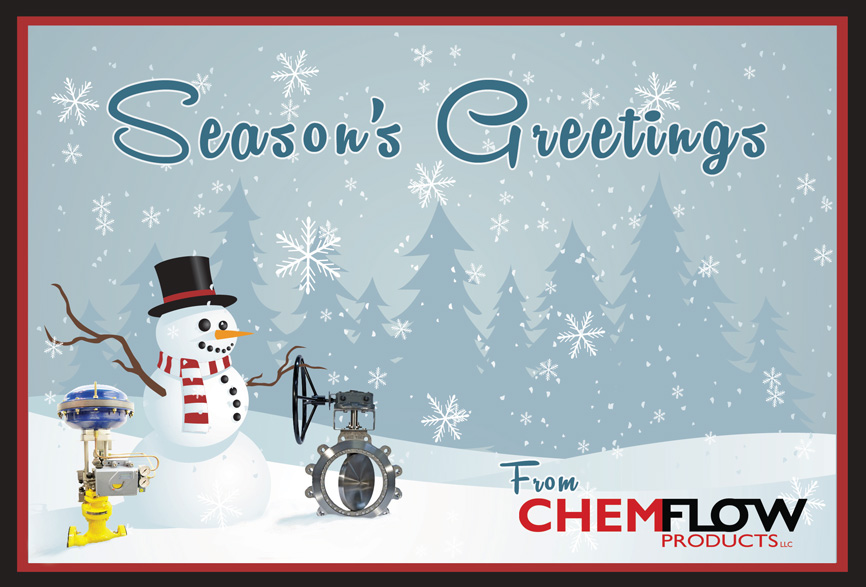 CHEMFLOW Holiday Card