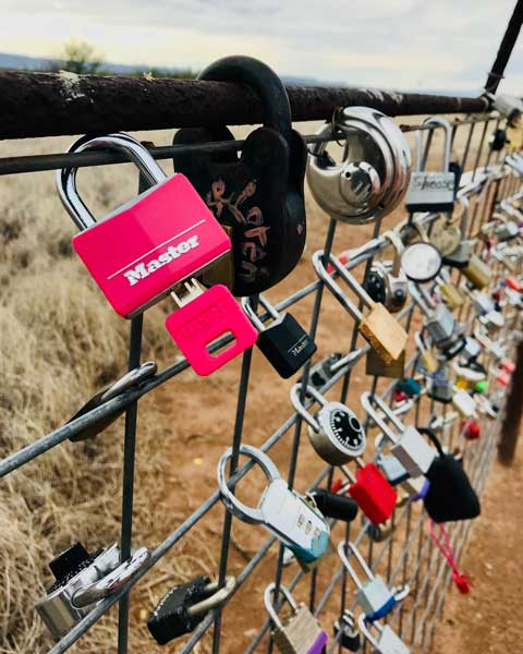Padilly's Love Lock Prada Marfa