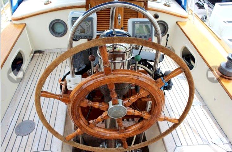 Ships Wheel for Tayana 37