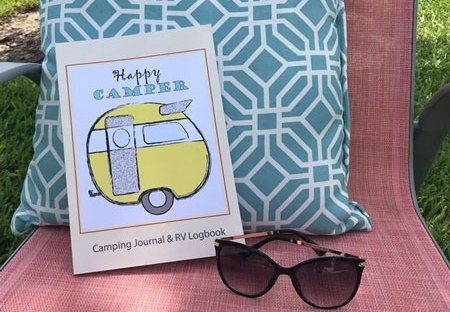 Mrs. Padilly's Happy Camper Journal