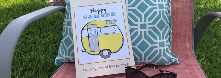 Happy Camper Book on Chair