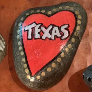 Texas Painted Rock